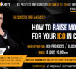 Priority Token Business Breakfast «How To Raise Money For Your ICO In China»
